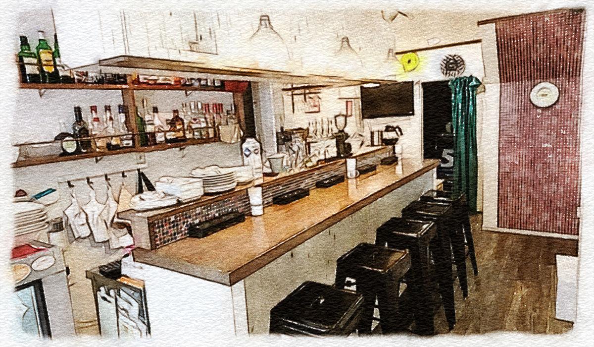 yururi salon×HanaUta café