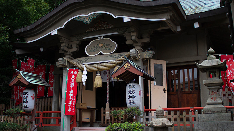 Prayer experience at Shinto shrine